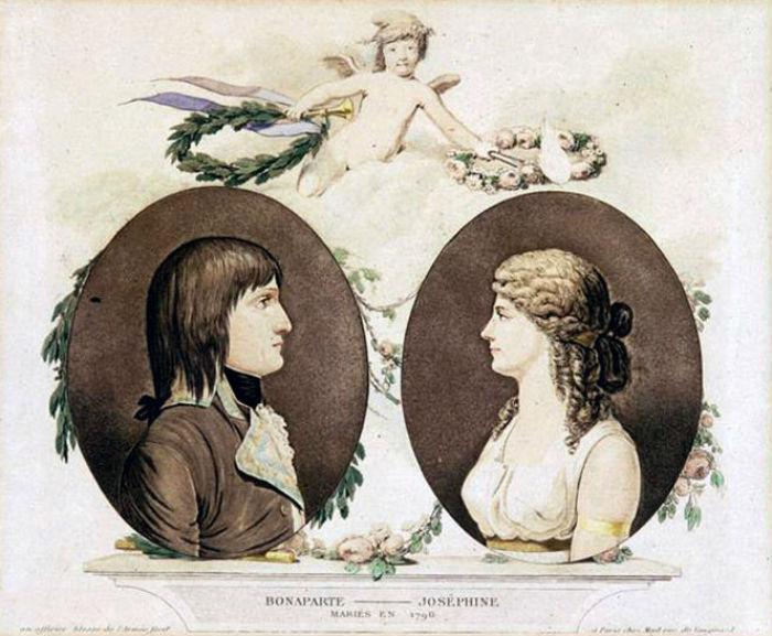 Бонапарт и Жозефина-Мария - 1796.jpg