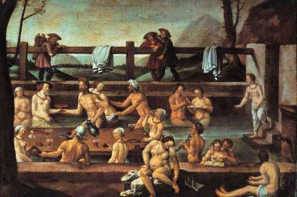 Как мылись в средневековой Европе